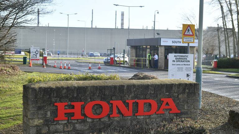 GV Honda's Swindon plant