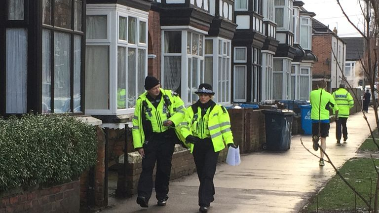 Police made door-to-door enquiries in Newland near where Ms Squire lived in Hull