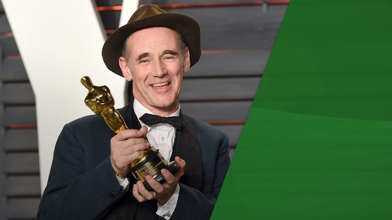 Sir Mark Rylance attacks BP - but how would he get to Hollywood without flying?
