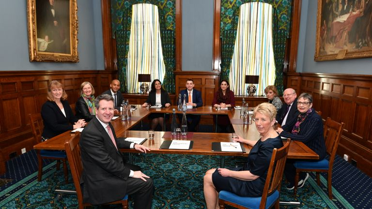 The Independent Group holds its first meeting in Westminster
