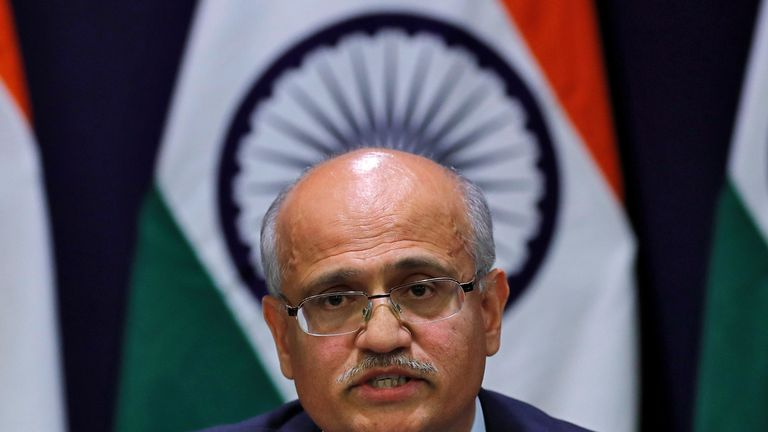 India's foreign secretary, Vijay Gokhale, says terrorists were 'eliminated'