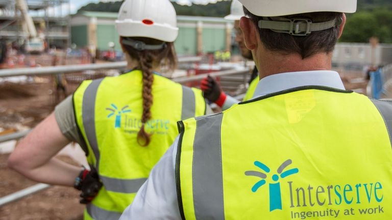 Interserve has been grappling to avoid a Carillion-style collapse