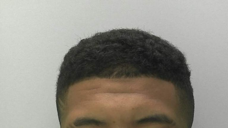 Isaiah Hanson-Frost was jailed for six years. Pic: Gloucestershire Constabulary