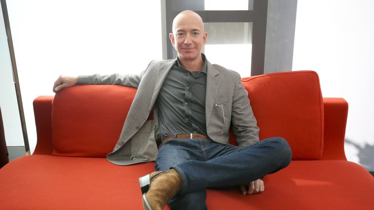 Mr Bezos hired a team of investigators after a story was published detailing his extramarital affair