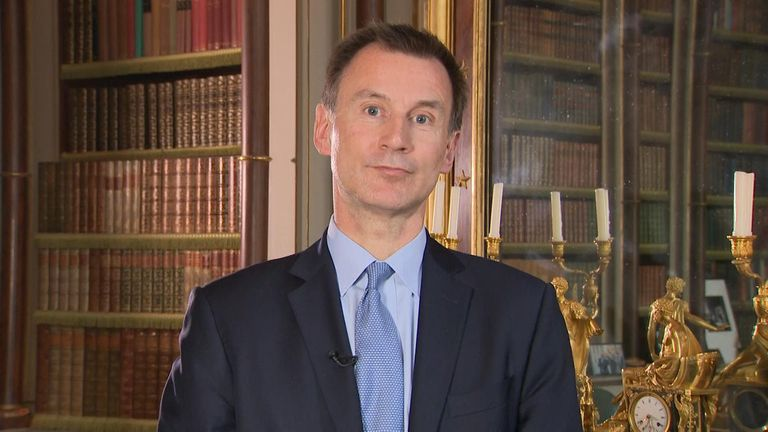 Foreign secretary Jeremy Hunt MP spoke to Sky's Kay Burley about Brexit, Donald Trump and Iran.