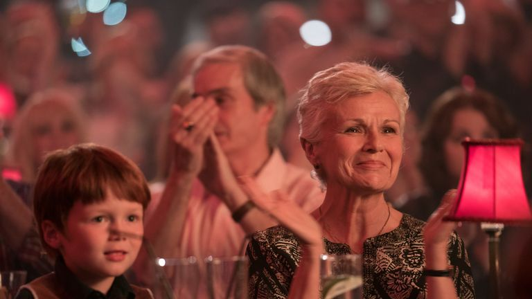 Julie Walters in Wild Rose, which stars Jessie Buckley. Pic: Entertainment One