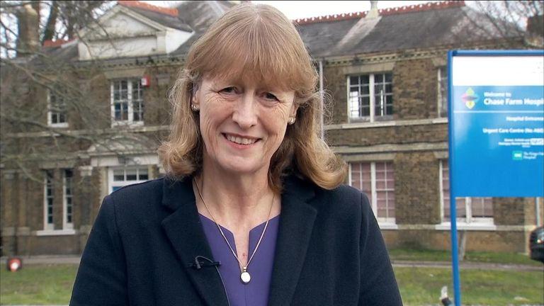 Former Labour MP Joan Ryan.