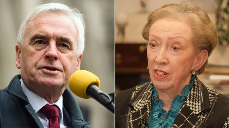 John McDonnell and Dame Margaret Beckett