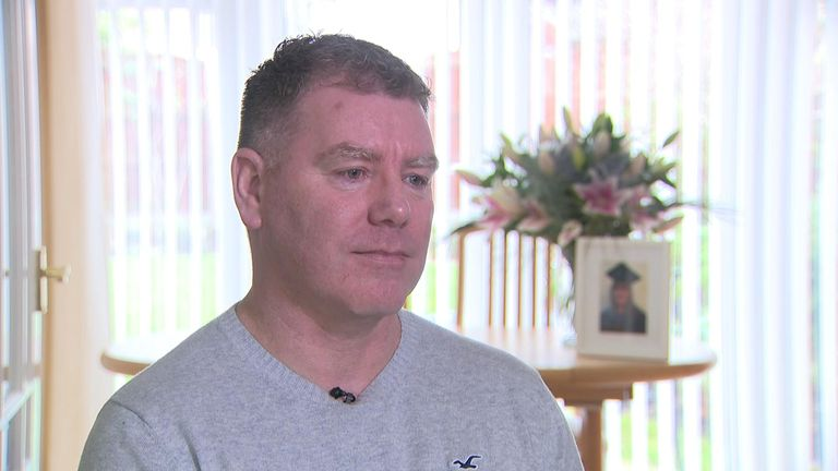 Kevin O'Connor told Sky News he wants an independent inquiry into his wife's death