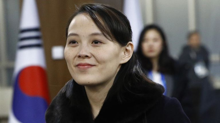 Kim Yo Jong, sister of North Korean leader Kim Jong Un
