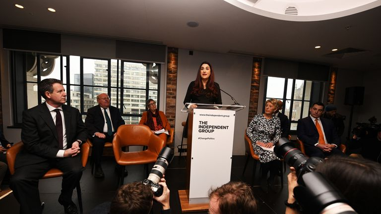 Luciana Berger was the first to announce her resignation