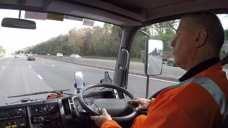 Mr Axten has been a recovery driver for nine years