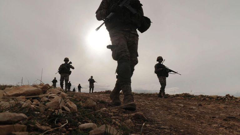 Lebanese patrol