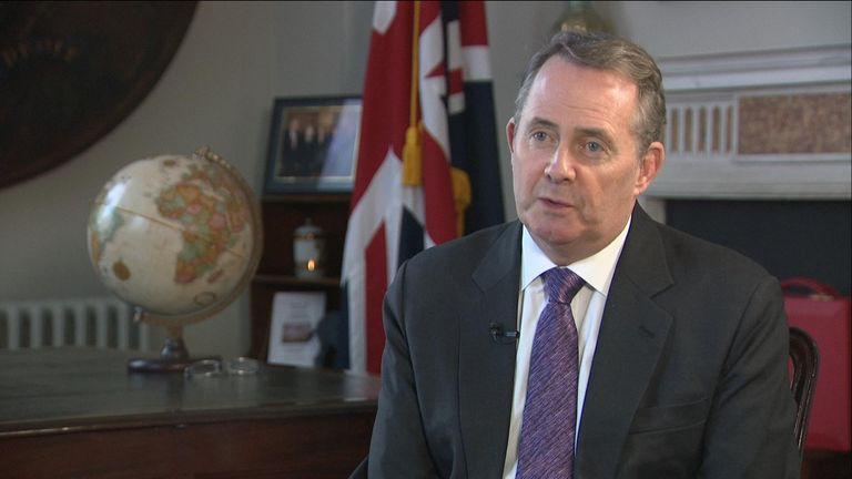 Liam Fox told Sophie Ridge that a no deal Brexit is 'survivable' but not in the UK's best interest