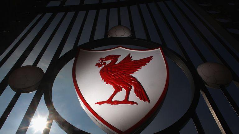 The Liverpool Football Club emblem,