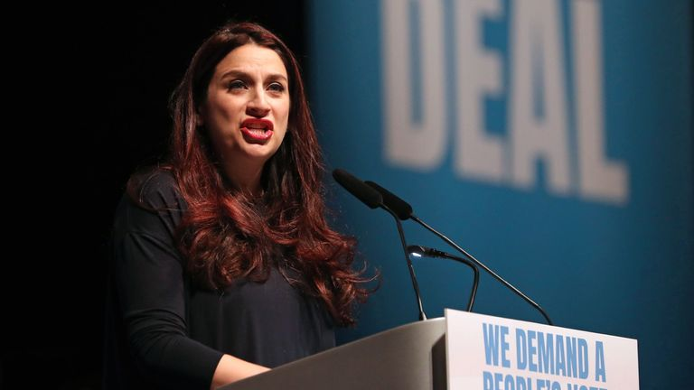 Luciana Berger tabled the motion alongside Ruth Smeeth
