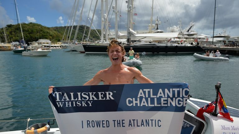 Luke said he hopes he can inspire people of all ages to challenge himself. Pic: Atlantic campaigns