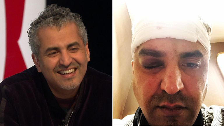 Maajid Nawaz thanked the members of the public who helped him