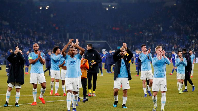 The alleged attack happened after Manchester City's match with Schalke