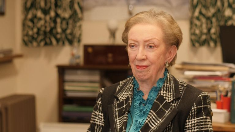 Margaret Beckett speaks to Sophy Ridge