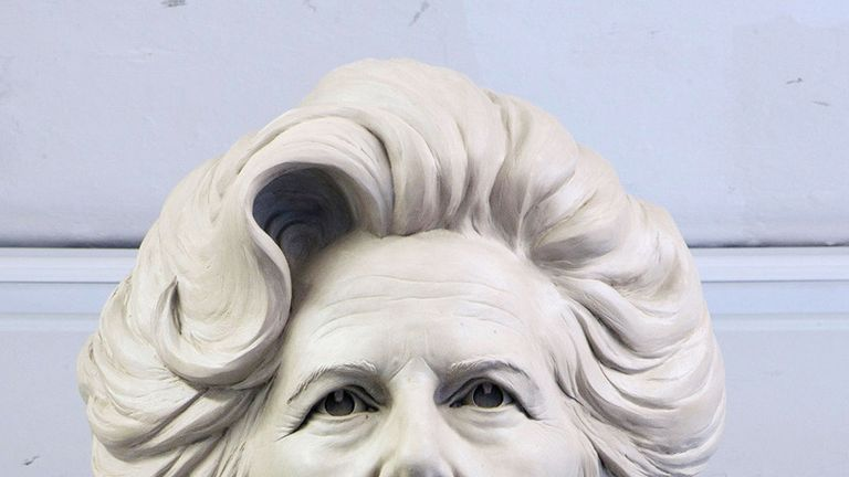 Undated handout file photo of sculptor Douglas Jennings' statue of Margaret Thatcher. Plans for the statue to be erected in Mrs Thatcher's home town of Grantham have been unanimously approved by South Kesteven District Council despite vandalism concerns. PRESS ASSOCIATION Photo. Issue date: Tuesday February 5, 2019. See PA story POLITICS Thatcher. Photo credit should read: Douglas Jennings/PA Wire NOTE TO EDITORS: This handout photo may only be used in for editorial reporting purposes for the co