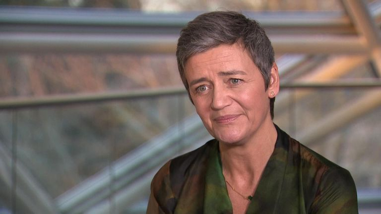 Margrethe Vestager, the powerful European commissioner for competition
