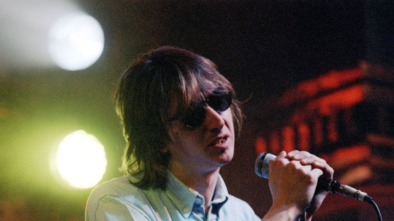 Mark Hollis on The Tube in 1986. Pic: ITV/REX/Shutterstock