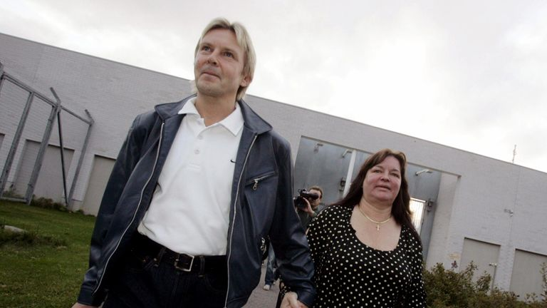 Nykanen leaves prison in 2005 after serving a sentence for stabbing a man