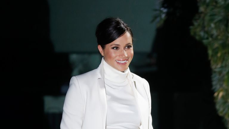 Meghan Markle is in New York on a low-key visit with friends