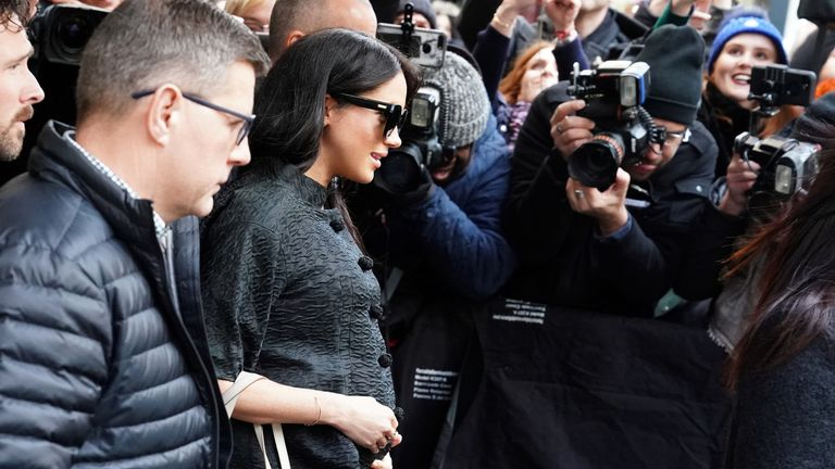 The Duchess of Sussex is spending five days in New York on a low-key visit