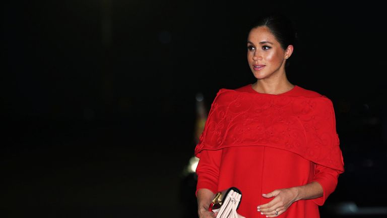 The duchess is due to give birth in April or May