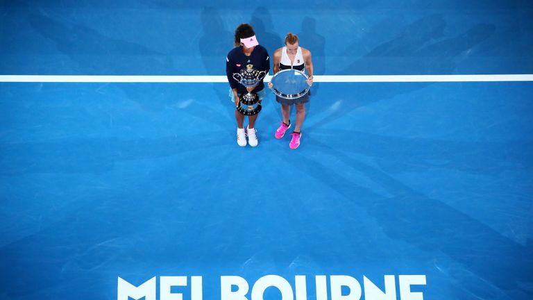Naomi Osaka and Petra Kvitova