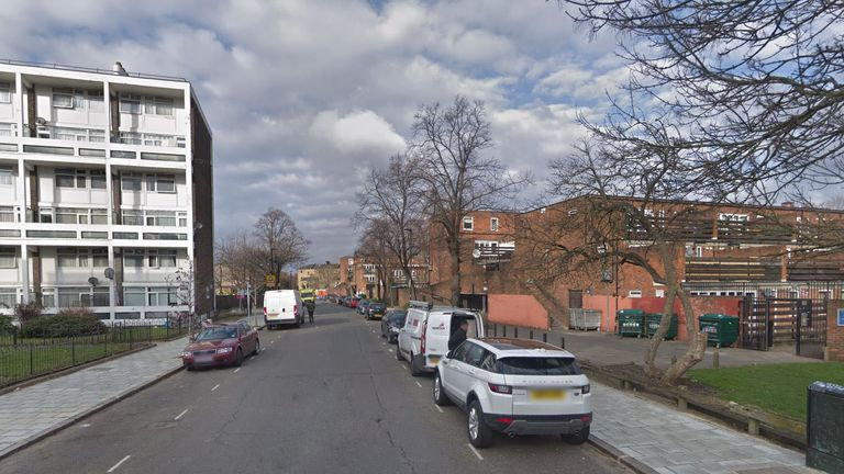The man was stabbed at a youth club in Minet Road, Brixton
