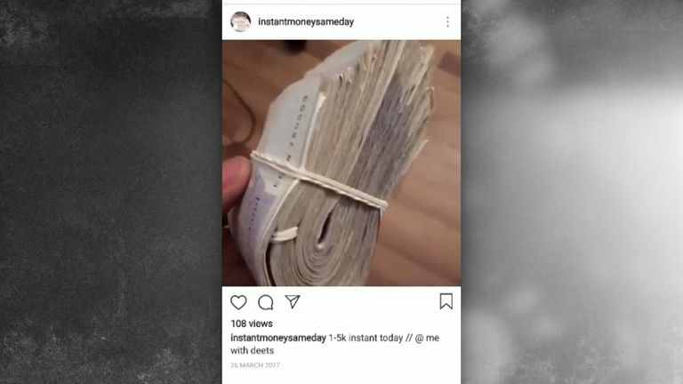 Fraudsters are using Instagram and Snapchat to scam people out of money