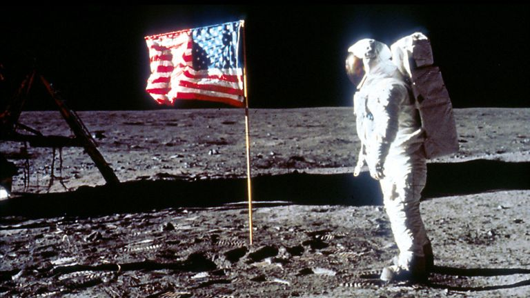 Buzz  Aldrin was the second man to walk on the moon