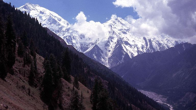 Nanga Parbat, also known as Killer Mountain, in Pakistan
