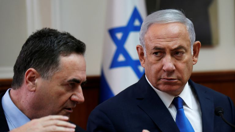 Israeli Prime Minister Benjamin Netanyahu said Israel Katz was misquoted
