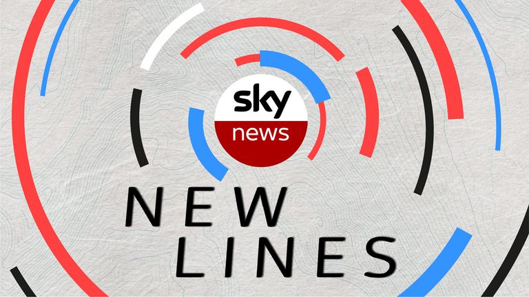 New Lines is a Sky News project aimed at telling the stories of life among people across the UK