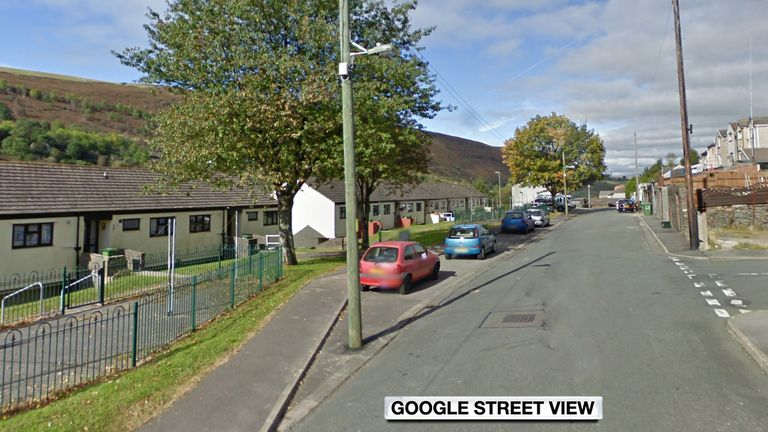 David Gaut was stabbed in a block of flats in New Tredegar, Caerphilly