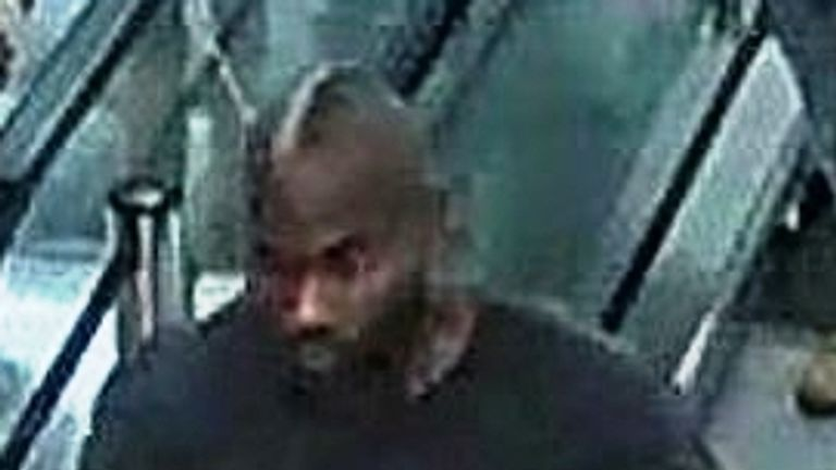 Police want to speak to this man after three girls were assaulted in a shopping centre
