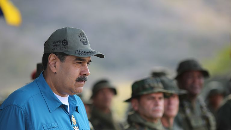 Nicolas Maduro has maintained the support of his military in testing times