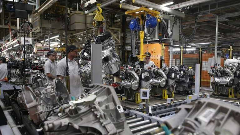 Nissan employs about 7,000 people in Sunderland