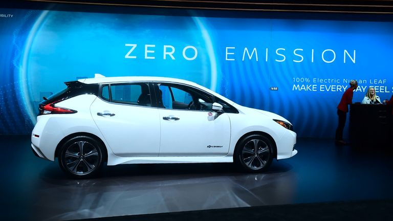 The Nissan Leaf is the best-selling electric car globally