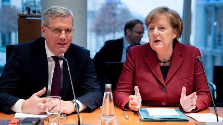 Dr Rottgen and German Chancellor Angela Merkel are both against Brexit
