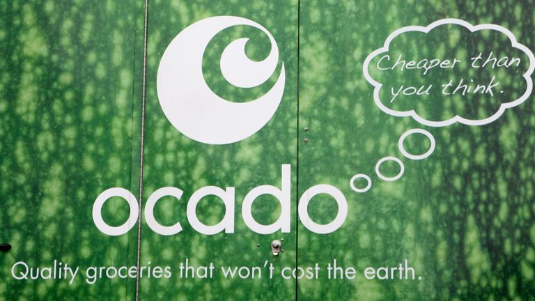 A generic stock photo of an Ocado home delivery van in south west London. PRESS ASSOCIATION Photo. Picture date: Friday October 1, 2010. Photo credit should read: Katie Collins/PA
