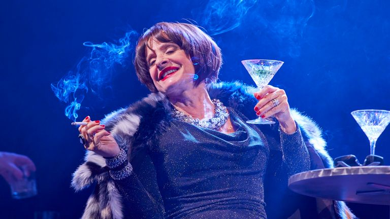 Patti LuPone in the musical Company. Pic: Brinkhoff Mogenburg