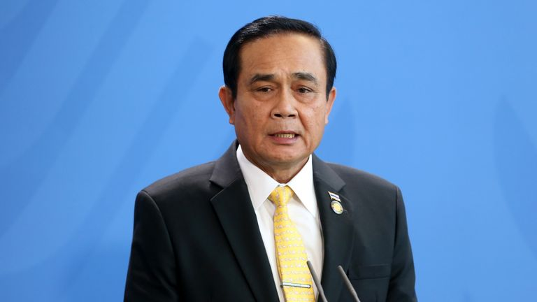 The princess will go up against Prayuth Chan-ocha, the leader of Thailand's military junta