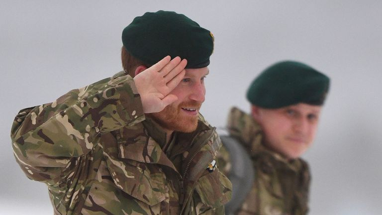 Prince Harry in Norway