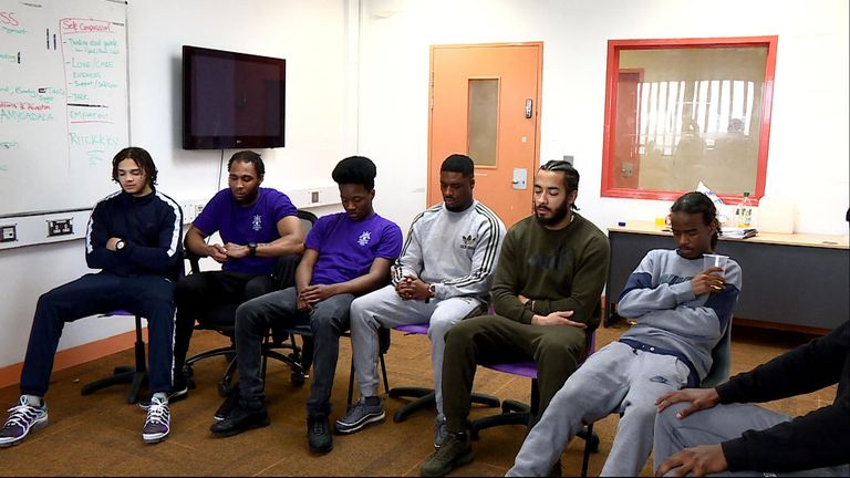 Prisoners at HMS Isis have been learning about meditation