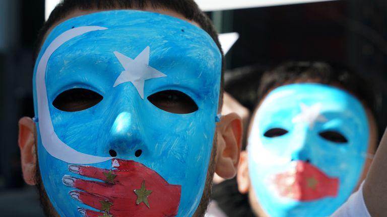 Pro-Uighur rally in New York